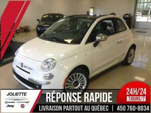 2017 FIAT 500 Lounge, CONVERTIBLE, CUIR, BLUETOOTH