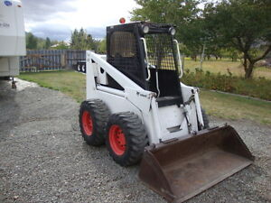 Bobcat 825 and Accessories