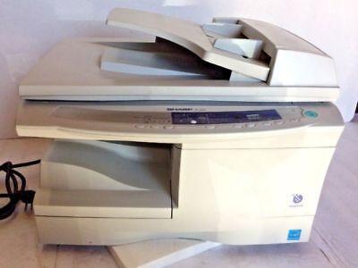 Sharp AL-1631 Monochrome Laser Printer Copier & Scanner Works Great - Manual