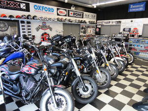 MOTORCYCLE STORAGE JUST $49.95 PER MONTH!