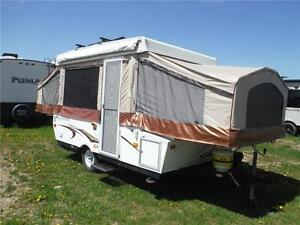 2011 Palomino Y4102 10' Tent Trailer with roof mounted bike rack