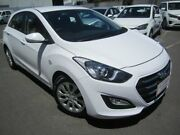 2015 Hyundai i30 GD3 Series II MY16 Active Clear White 6 Speed Sports Automatic Hatchback St Marys Mitcham Area Preview