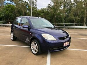 2005 Mazda 2 DY Neo Blue 5 Speed Manual Hatchback