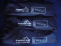 CAMP BEDS X 3