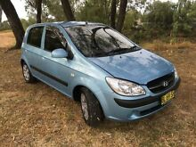 2009 Hyundai Getz TB MY09 S Blue 4 Speed Automatic Hatchback Coonamble Coonamble Area Preview