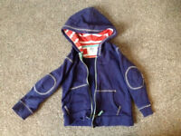 Boys BODEN Hoody 2-3 yrs (worth £25)