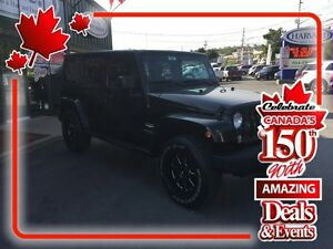 2014 Jeep Wrangler Unlimited Sahara ( SUMMER SALE!) NOW $33,950