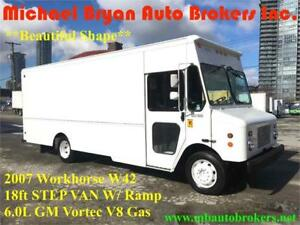2007 WORKHORSE W42 18FT STEP VAN **VERY RARE** 6.0L V8 GAS