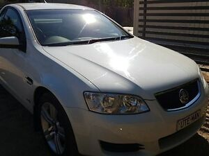 2011 Holden Commodore VE11 Omega White 4 Speed Automatic Utility Winnellie Darwin City Preview
