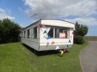 STATIC CARAVAN FOR SALE ON EAST YORKSHIRE COAST CLOSE TO BEACH NR TUNSTALL,PATRINGTON,BRIDLINGTON