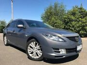 2008 Mazda 6 GH Classic Grey 5 Speed Auto Activematic Wagon Hoppers Crossing Wyndham Area Preview