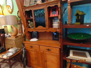 Solid Wood Buffet/Hutch (TRAIL)
