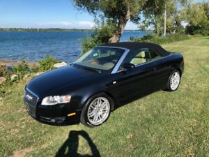 SUPER SHARP!!! 2007 Audi A4 Cabriolet Quattro Convertible