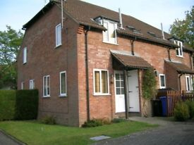 1 bedroom house with own parking in Kimberley, Church Crookham, close to Fleet and local amenities.