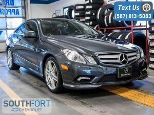 2011 Mercedes-Benz E-Class E 550 Leather Nav Heat/Cool Seats
