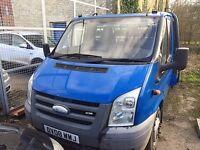 Ford Transit 2.4 Diesel Flatbed (13'6 Bed)