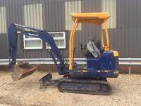 Takechui TB016 1.5ton Mini Digger Excavator Not Kubota Yanmar