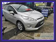 2010 Ford Fiesta WS Zetec Silver 5 Speed Manual Hatchback Lansvale Liverpool Area Preview
