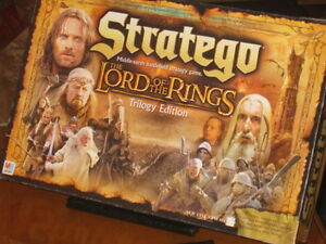 Stratego Lord of the Rings - Trilogy Edition - en Anglais