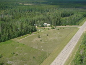 10 acres of privacy near lake access.