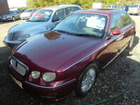 Rover 75 2.0 CLUB SE (red) 2002