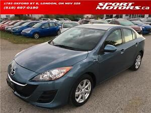 2011 Mazda3! Rust Proofed+Module* ONLY 65,000 KMs* New Brakes!