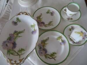 Antique Royal Doulton bone china coffee set