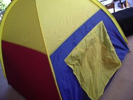 Immaculate cond. IKEA Murmel play tent in carry bag