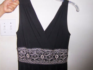 BLACK DRESS, LIKE NEW, PERFECT CONDITION