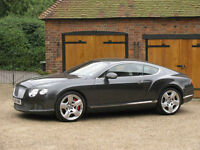 2012 Bentley Continental GT Mulliner Driving Specification