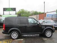 LAND ROVER DISCOVERY 2.7 Td V6 SE 5dr Auto (black) 2008