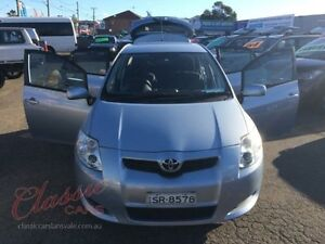 2008 Toyota Corolla ZRE152R Ascent Blue 4 Speed Automatic Hatchback Lansvale Liverpool Area Preview