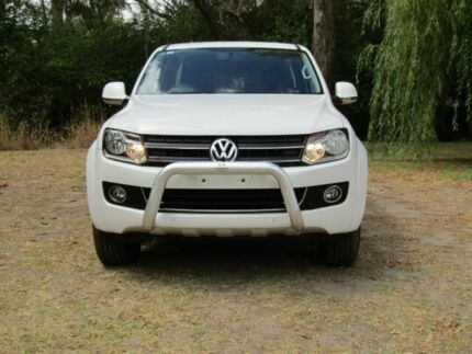 2013 Volkswagen Amarok 2H MY13 TDI420 4Motion Perm Highline White 8 Speed Automatic Utility Hahndorf Mount Barker Area Preview
