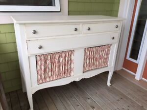Painted Antique Cabinet