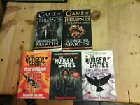 game of thrones hunger games books