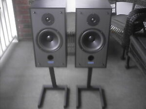TANNOY C-8 Speakers with Stands