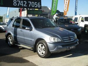 2005 Mercedes-Benz ML W163 350 Special Edition (4x4) Blue 5 Speed Auto Tipshift Wagon Hoppers Crossing Wyndham Area Preview