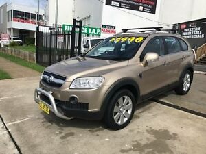 2008 Holden Captiva CG MY08 LX (4x4) Gold 5 Speed Automatic Wagon St Marys Penrith Area Preview