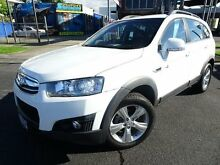2011 Holden Captiva CG Series II 7 CX (4x4) White 6 Speed Automatic Wagon Parramatta Park Cairns City Preview