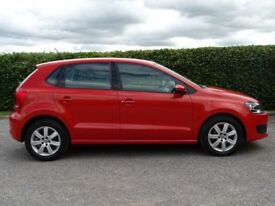 VOLKSWAGEN POLO 1.4 SE DSG 5d AUTOMATIC (orange) 2010
