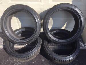 4 Pneus d'hiver / winter tires - 205/45R17