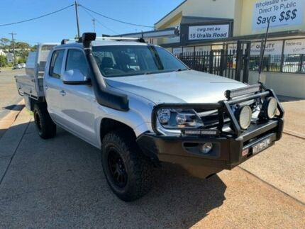 2012 Volkswagen Amarok 2H MY12 TDI400 Trendline (4x4) Silver 6 Speed Manual Dual Cab Chassis Port Macquarie Port Macquarie City Preview
