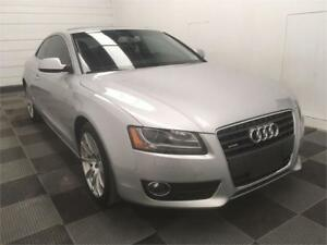 2010 Audi A5 2.0L AWD! Leather! Heated Seats! Clean Title!