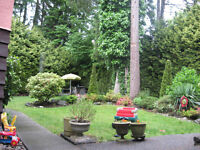 Delta (Vancouver) rooms for vacation, short term, temporary stay