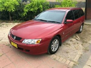 2004 Holden Commodore VY II Acclaim Red Automatic Wagon