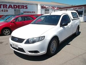 2008 Ford Falcon FG (LPG) White 4 Speed Auto Seq Sportshift Utility Woodville Park Charles Sturt Area Preview