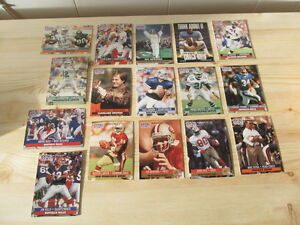 450+ 1991 Pro Set football cards