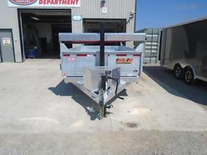 HOT DIPPED GALVANIZED 16' DUMP TRAILER BY N&N  CANADIAN MADE - London Ontario image 3