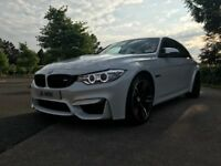 White BMW M3 2016 Black Interior, Carbon