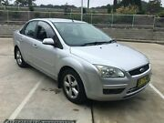 2007 Ford Focus LS LX Silver 4 Speed Automatic Sedan Lisarow Gosford Area Preview